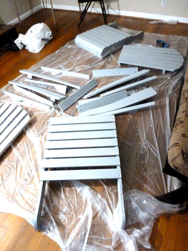 Priming the chairs